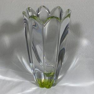 Orrefors Kostaboda Accents - Orrefors Fluted Fleurs Vase & Bowl Set